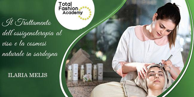 Il trattamento dell'ossigenoterapia al viso e la cosmesi naturale in Sardegna