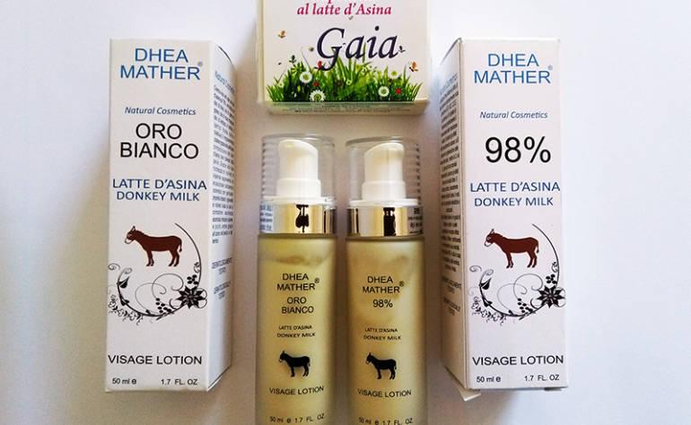 Vendita Cosmetici al latte d'asina |  Dove comprarli
