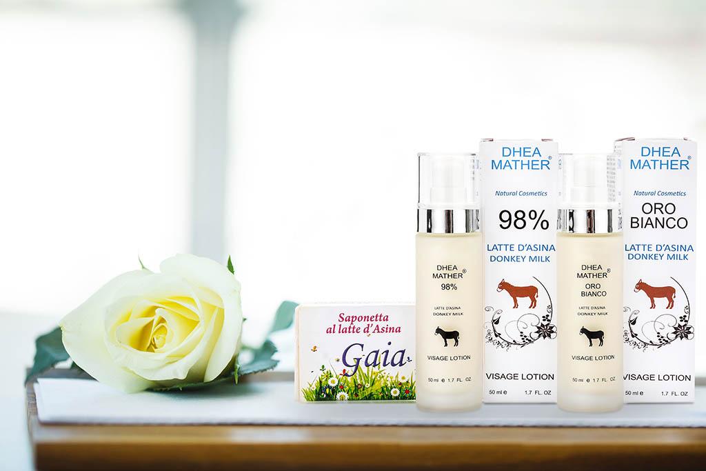 Le 10 migliori proprietà dei cosmetici a base di latte d'asina