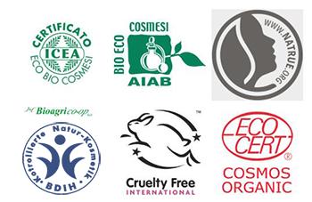 Certificazioni cosmetici naturali